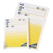 Notas adhesivas preimpresas Mensaje telefónico grande Post-it