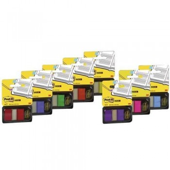 INDEX POST-IT MEDIANO ROSA DISPENSADOR 50 UNIDADES 680