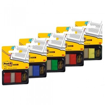 INDEX POST-IT MEDIANO VERDE DISPENSADOR 50 UNIDADES 680