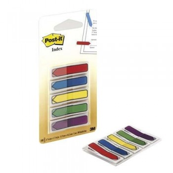 DISPENSADOR INDEX POST-IT INDEX FLECHAS 100 UNIDADES