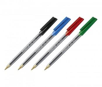 Bolígrafo con capuchon de punta 0,35 mm negro Stick 430 M