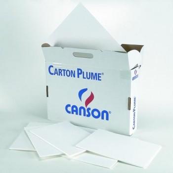 Cartón pluma hoja 70x100 5 m/m Blanco Canson