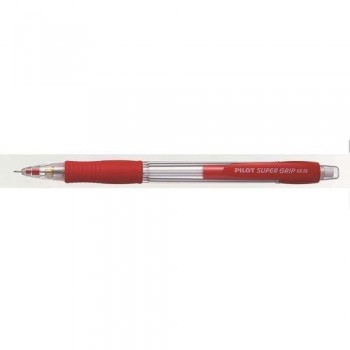 PORTAMINAS 0,5 MM ROJO H-185 SUPERGRIP PILOT