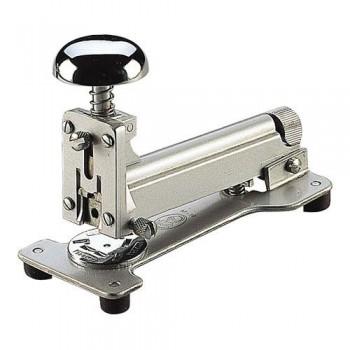 Grapadora gris metalizada M10 para grapas 22 El Casco