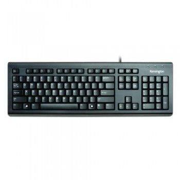 TECLADO CON CABLE VALUEKEYBOARD NEGRO USB KENSINGTON