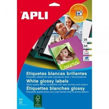 APLI ETIQUETAS GLOSSY ADHESIVAS FOTO 199,6X289,1