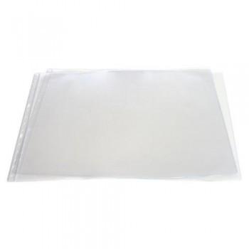 FUNDA MULTITALADRO A3 APAISADO PVC CON REBAJE LATERAL 150 MICRAS 4 TALADROS GRAFOPLAS