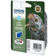 Epson cartucho inyección tinta Cian claro T0795