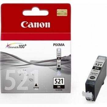 CANON CARTUCHO TINTA 2933B001 CLI-521BK NEGRO