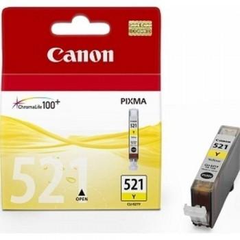 CANON CARTUCHO TINTA 2936B001 CLI-521Y AMARILLO