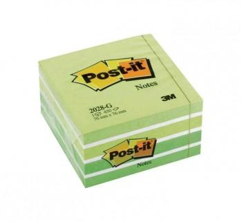 CUBO NOTAS POST-IT 76X76 450H VER PAS