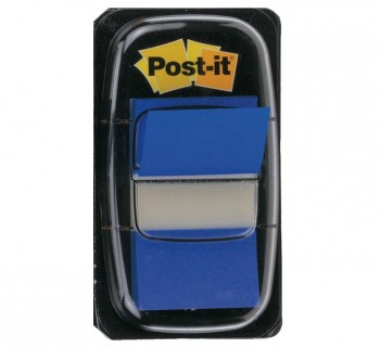 """DISPENSADOR 50 INDEX POST-IT 1\""\"" AZUL              \"""