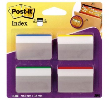 INDICE POST-IT RIGIDOS GRANDES INCLINADOS