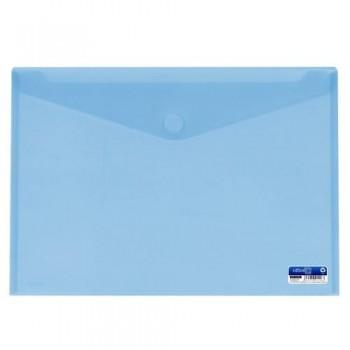 SOBRE A3 PP CIERRE DE VELCRO 435X310 MM AZUL. OFFICE BOX