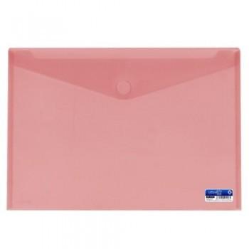 SOBRE A3 PP CIERRE DE VELCRO 435X310 MM ROJO. OFFICE BOX