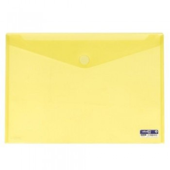 SOBRE A3 PP CIERRE DE VELCRO 435X310 MM AMARILLO. OFFICE BOX