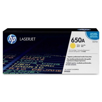 TONER HP LASERJET 5525 AMARILLO 15.000 PAGS CE272A