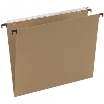 CARPETA COLGANTE FOLIO PROLONGADO KRAFT LOMO V VISOR SUPERIOR LARGO GRAFOPLAS