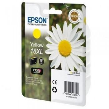 EPSON CARTUCHO TINTA C13T18144012 N 18XL AMARILLO
