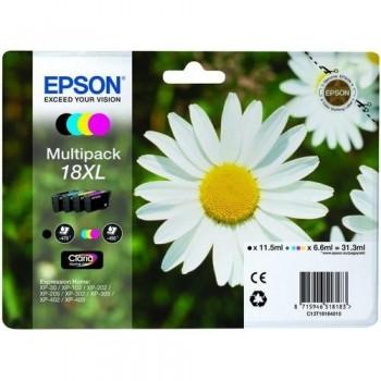 EPSON CARTUCHO TINTA C13T18164012 N 18XL BK/C/M/Y