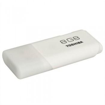 Memoria USB Hayabusa blanco 8 gb Toshiba