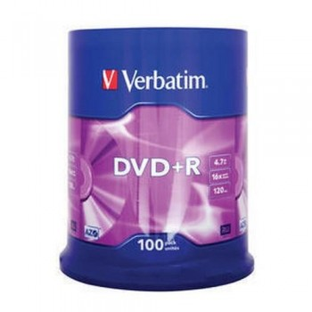 DVD +R 4.7GB 16X bobina 100 unidades Advanced Azo