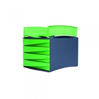 MÓDULO CON 4 CAJONES GREEN2DESK VERDE FELLOWES