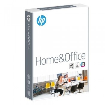 PAPEL A4 80 GR. 500 HOJAS BLANCO HP HOME & OFFICE