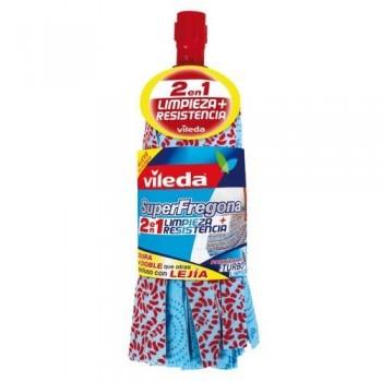 FREGONA SUPER TIRAS AZULES VILEDA