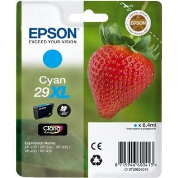 EPSON CARTUCHO TINTA C13T29924010 N 29XL CIAN