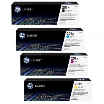 HP Tóner láser CF401X Nº201X Cian