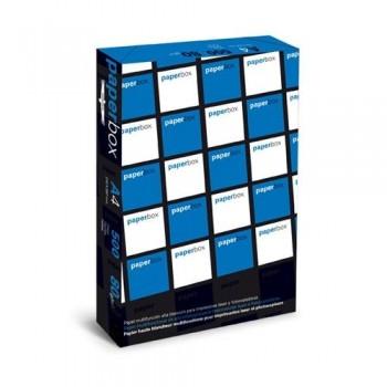 PAPEL A4 80 GR. 500 HOJAS BLANCO MULTIFUNCIÓN PAPERBOX