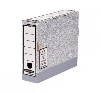 CAJA ARCHIVO DEF. FELLOWES A4 80MM. GRIS 1080001