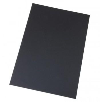 PORTADA  A5 (148X210) PVC OPACO NEGRA 180 MC