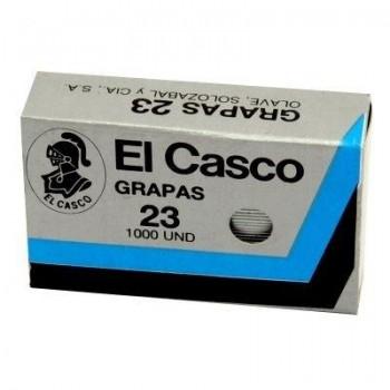 GRAPAS 23/6 COBRE EL CASCO MODELO Nº 23 1000 U