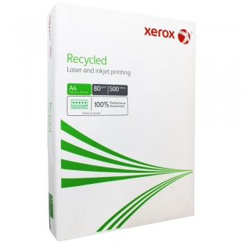 A4 80GR XEROX RECYCLED 100% 500 HOJAS 003R91165
