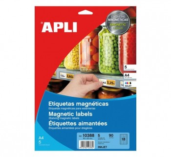 APL B.5H ETIQ.MAGNET ILC 350G 80X28 INK