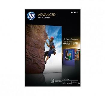 PAQ. 25H PAPEL FOTO HP Q5456A ADVANCED A4 250GR