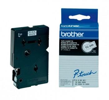 CINTA BROTHER LAM 9MMX7.7M NG BL TC-291