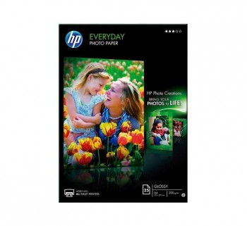 PAQ. 25H PAPEL FOTO HP Q5451A EVERYDAY A4 200GR