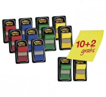 """DIEPNSADOR 10+2 50 INDEX POST-IT 1\""\"" 680-P10+2     \"""