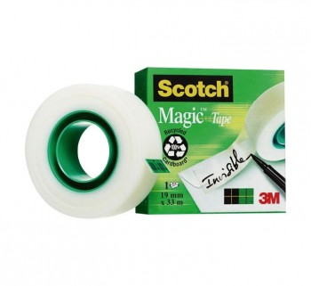 CINTA ADHESIVA SCOTCH MAGIC 19MMX33M 810 1933