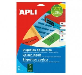 APL B20H ETIQ COLORES AZUL 105X37