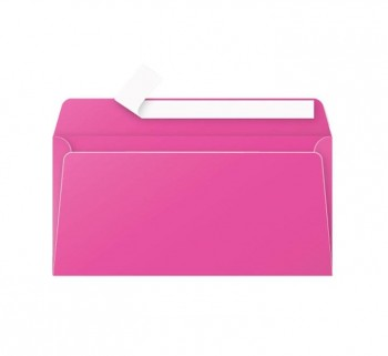 PAQ 20 SOBRES CLAIREFONTAINE 110X220 FUCSIA