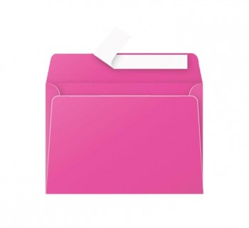PAQ 20 SOBRES CLAIREFONTAINE 114X162 FUCSIA
