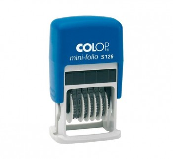 NUMERADOR COLOP 4MM 6 BANDAS S100.S126.1