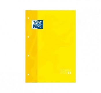 REC. OXFORD A4 80H 5X5MM AMARILLO 90G 400123675