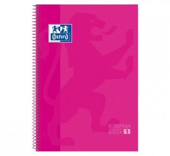 CUAD. OXFORD EBOOK1 A4 80H 5X5 T EXTRAD. ROSA