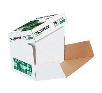 CAJA FASTPACK 2500H A4 PAPEL DISCOVERY 75G 0413HD