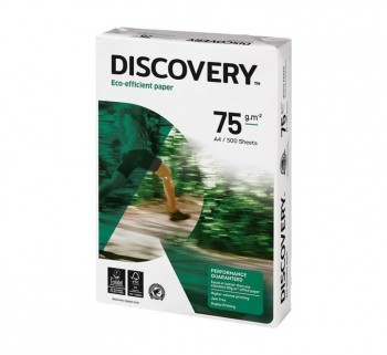CAJA 5 PAQ. 500H A4 PAPEL DISCOVERY 75G 0567SW